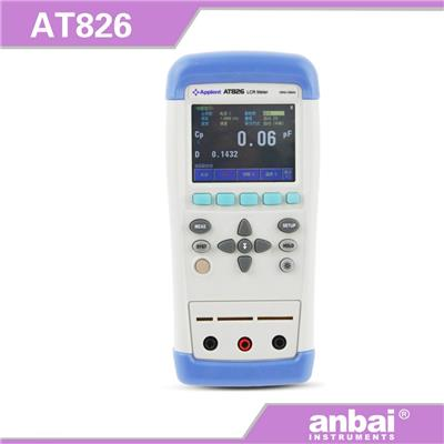 安柏anbai AT824/AT825/AT826 1k经济型 手持LCR 数字电桥触摸屏控制