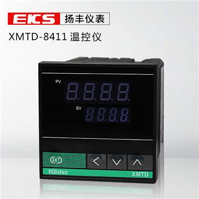 扬丰仪表 智能PID温控仪,长款XMTD-8411温控表万能输入温控器