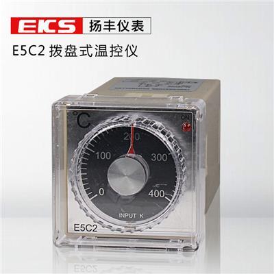 扬丰仪表 出口型温控表E5C2 温控器 拨盘式调节温控仪