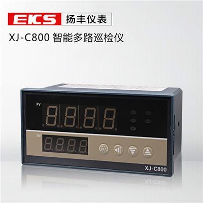 扬丰仪表 智能型多路温度巡检仪 16路 PT100输入智能巡检仪 160*80*90
