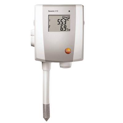 德国德图TESTO 以太网探头:双通道温湿度探头 带显示 testo Saveris H1 E - 订货号  0572 6191