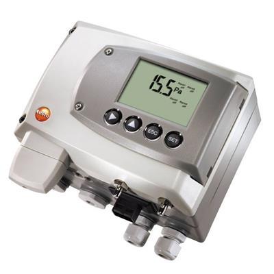 德国德图TESTO 应用于工业领域的压差变送器 testo 6351 - 订货号  0555 6351