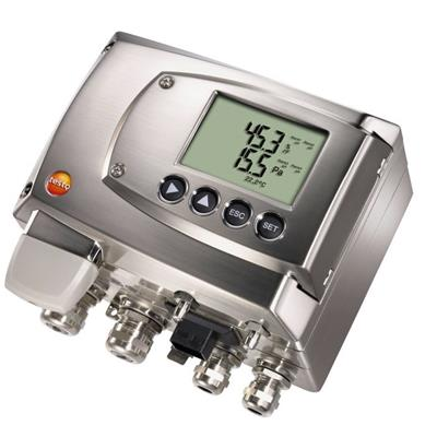 德国德图TESTO 可以进行流量计算的压差变送器 testo 6381 - 订货号  0555 6381