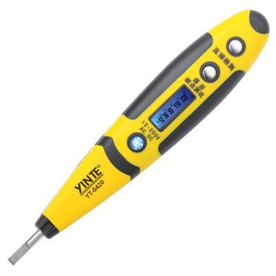 余姚市银特  多功能测电笔 新型多功能 数显感应测电笔验电笔厂家包邮  YT-0420