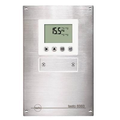 德国德图TESTO 适用于洁净室的压差变送器 testo 6383 - 订货号  0555 6383