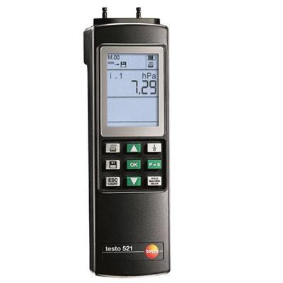 德国德图TESTO 差压测量仪(量程高达2.5 hPa) testo 521-3 - 订货号  0560 5213