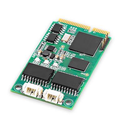 致远电子 MiniPCIe接口CAN卡 MiniPCIeCAN-2E-U