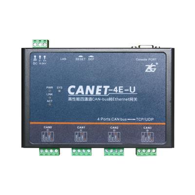 致远电子 以太网转CAN模块 CANET-4E-U
