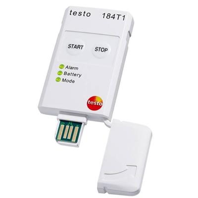 德国德图TESTO USB型温度记录仪-(一次性使用:90天寿命) testo 184 T1 - 订货号  0572 1841