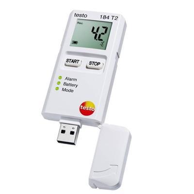 德国德图TESTO USB型温度记录仪-(一次性使用:150天寿命) testo 184 T2 - 订货号  0572 1842
