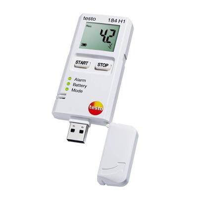 德国德图TESTO USB型运输用震动、温湿度记录仪 testo 184 G1 - 订货号  0572 1846