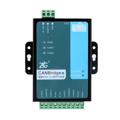 致远电子 隔离网关中继器集线器CANBridge+