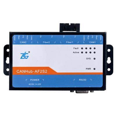 致远电子 CAN光纤转换器CANHub-AF2S2