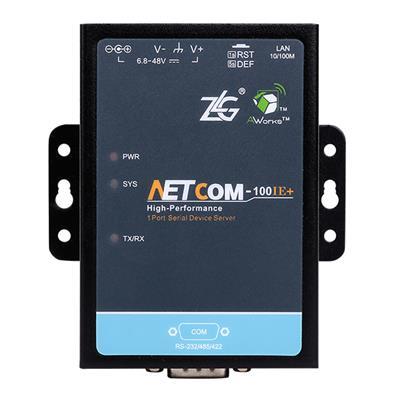 致远电子 工业级串口服务器NETCOM-100IE+