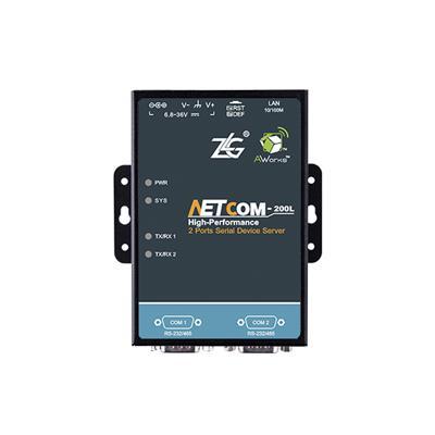 致远电子 工业级串口服务器NETCOM-200L