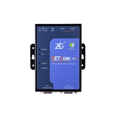 致远电子 工业级串口服务器NETCOM-200IE