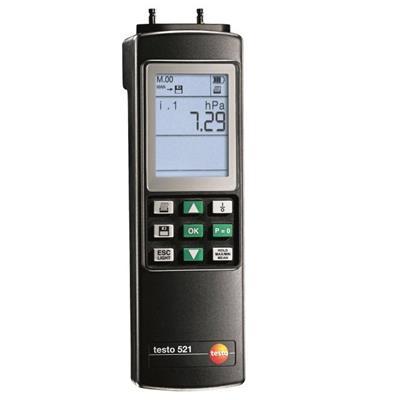 德国德图TESTO 专业型差压测量仪(精度为满量程的0.2%) testo 521-1 – 订货号  0560 5210