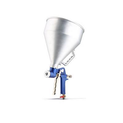 藤原 重力式真石漆喷枪 T0103601  3L黄塑料壶款