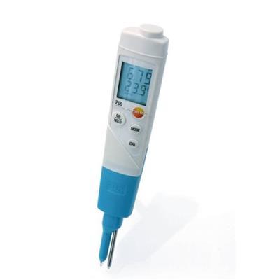 德国德图TESTO pH2酸碱度/温度测量入门级套装 - 适用于半固体测量 testo 206- 订货号  0563 2066