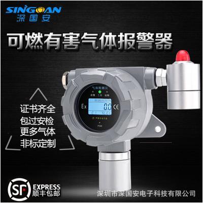 深国安 固定式有显式气体检测仪4-20mA信号输出甲醛浓度检测仪 SGA-500B-HCHO