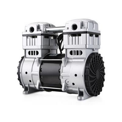 藤原 无油真空泵机头小型高真空泵头 550D 750D 1550D 二级750D真空泵机头
