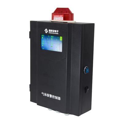 保时安 工业用壁挂固定式气体报警控制器十六路防爆型可燃氧气气体检测仪 BH-50