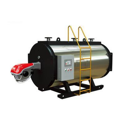 永安锅炉 卧式顺燃三回程 燃油、气、醇基燃料常压热水锅炉CWNS0.35
