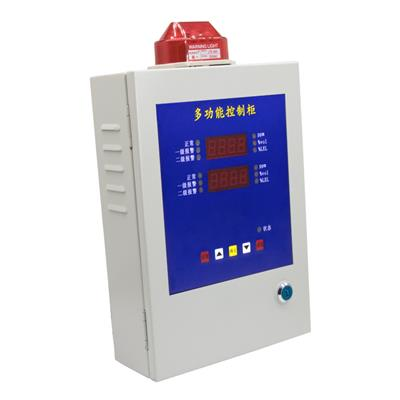 保时安 工业用壁挂固定式气体报警控制器四路防爆型可燃氧气气体检测仪  BH-50