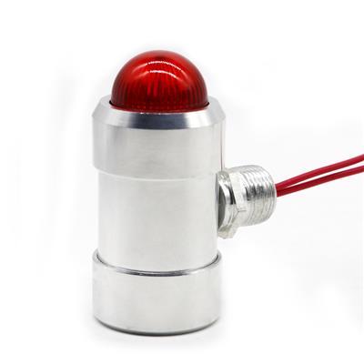 保时安 工业用固定壁挂式气体检测仪探头变送器现场声音灯光报警器 BH-50