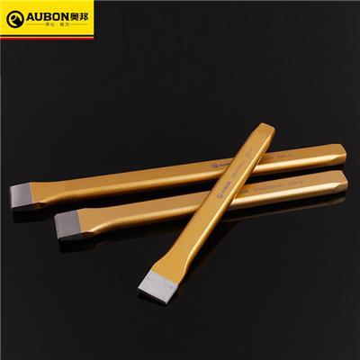 奥邦 铬钒钢合金石工凿 高硬度多规格扁凿多功能施工水泥凿 8寸-200mm