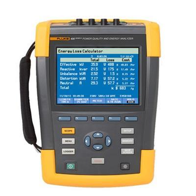 美国福禄克FLUKE Fluke 438-II 电能质量和电机分析仪