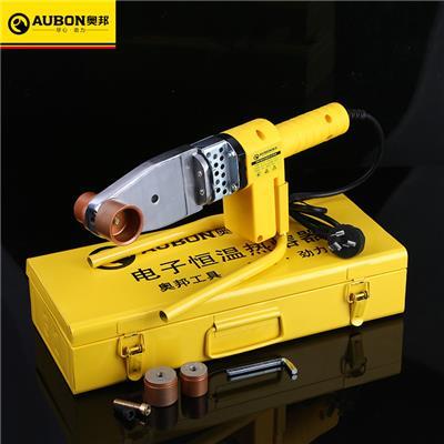 奥邦 奥邦电子热熔器 手动PPR管热熔机多规格水管塑料熔接器 20-32一件10个,标配3个模头,重1.75KG,800W