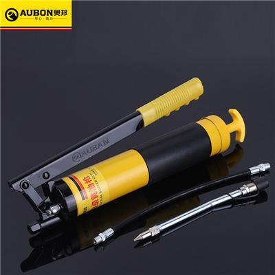 奥邦 五金工具压杆式黄油枪注油枪 多规格省力手动重型高压黄油枪  重型黄油枪600g(10把/件)