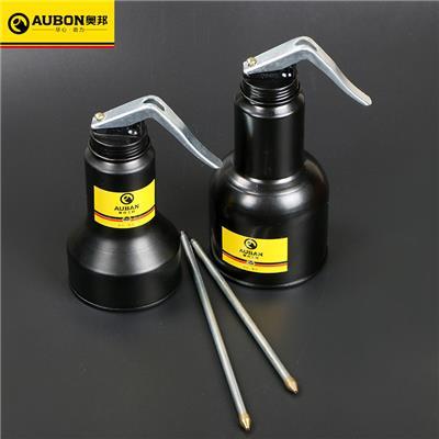 奥邦 环保型机油壶350/500ML手动高压机油壶长嘴小机油壶 环保型机油壶350ml