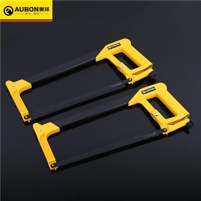 奥邦 专业级12寸钢锯架 方管铝合金锯架 锯弓 手动钢锯架工具 12寸