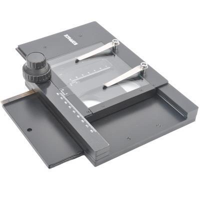 科普艾斯 显微镜XY移动平台导轨横向移动台式数码显微镜移动台 KP-302