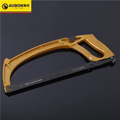 奥邦 工具铝合金钢锯架加厚手工锯手动防滑多规格钢锯架 12''