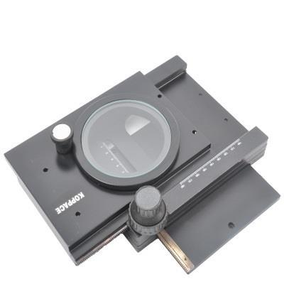 科普艾斯  工作台配光学体视数码显微镜移动平台XY导轨 KP-302B