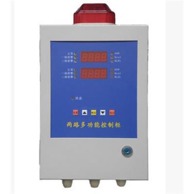 深国安 分线制1-2路气体报警控制器 报警控制主机接收标准4-20mA电流信号 SGA-800D-2