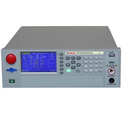 汇高 HG7110B安规综合测试仪 耐压绝缘接地泄漏测量仪击穿电流值 HG7110B