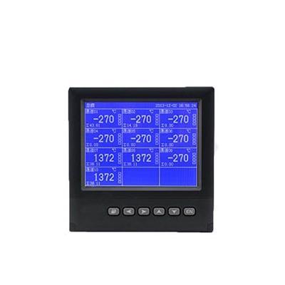 联测 1-16路可选 5.6英寸蓝屏 无纸记录仪 LR4000D