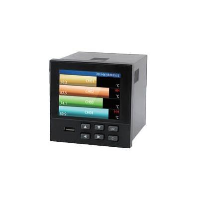 联测 1-18路新品 96*96黄金尺寸温湿度记录仪 LR9600