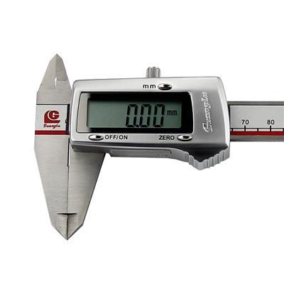 广陆量具 3V锂电池数显卡尺(金属) 0-300mm 货号111-103V-10G