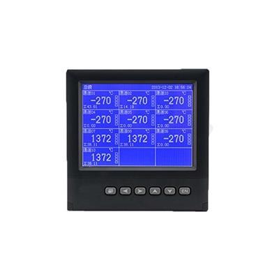联测 1-16路可选 5.6英寸 蓝屏 温湿度记录仪 LR4000D