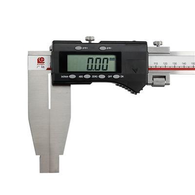 广陆量具 单向爪数显卡尺 0-200mm 货号111-500-1
