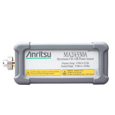 日本安立 微波 CW USB 功率传感器 MA24330A