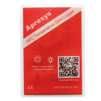 艾普瑞APRESYS 标签温湿度记录仪 NFC