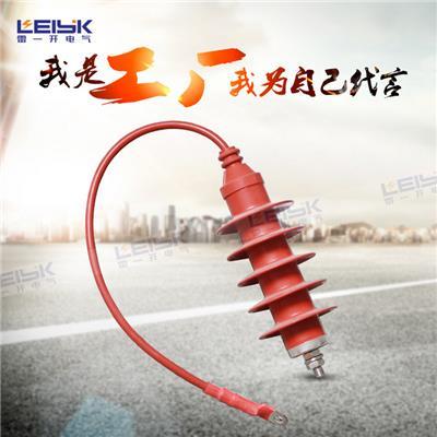 雷一 高压复合外套金属氧化锌避雷器带线缆 HY5WQ-51/134