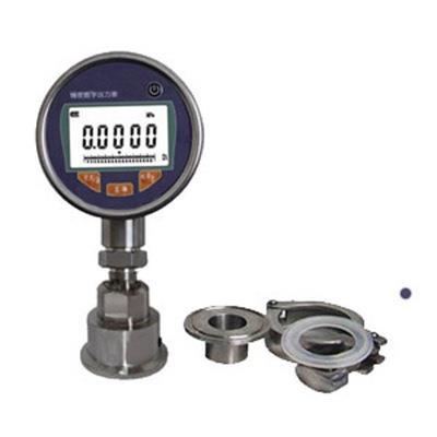 智拓 卡箍型隔膜数字压力表 ZHT-2091