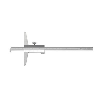 广陆量具 闭式单钩头游标深度尺 0-150mm 货号155-100-1
